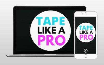 Tape Like A Pro